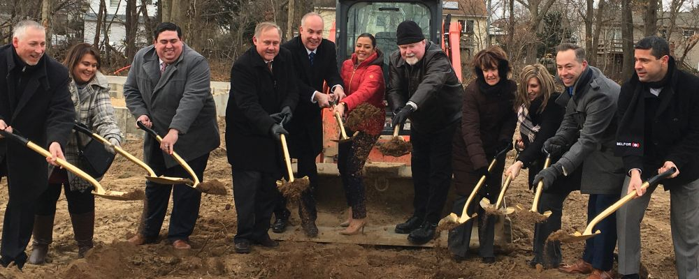 Breaking Ground in Central Islip